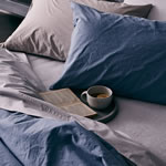 Linen & Moore Nordic Stone Washed Bed Linen