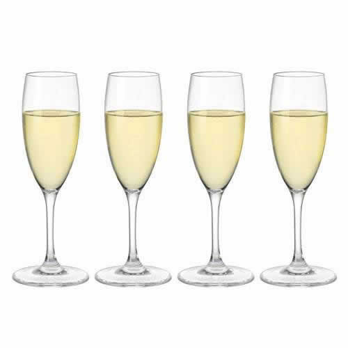 Alfresco Polycarbonate Champagne Flutes 200ml