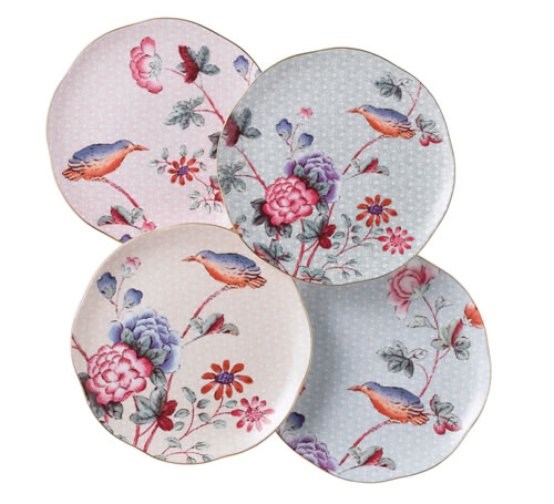Cuckoo Set of Four Plates 20cm