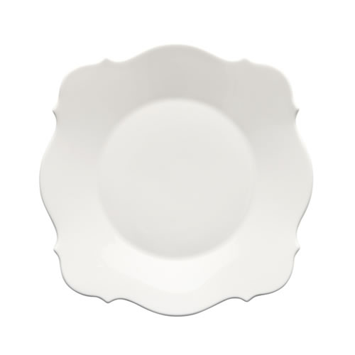 Baroque White Entree Plate 23cm