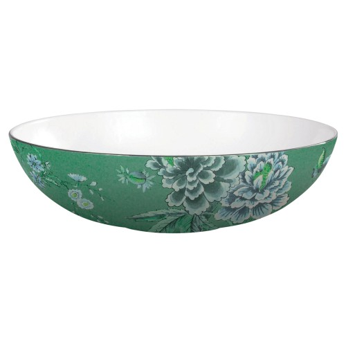 Jasper Conran Chinoiserie Serving Bowl in Green 30cm
