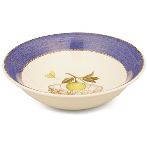 Sarah's Garden Cereal Bowl in Blue