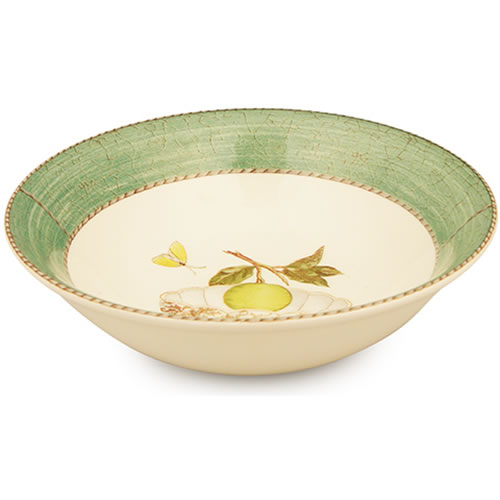 Sarah's Garden Cereal Bowl in Green