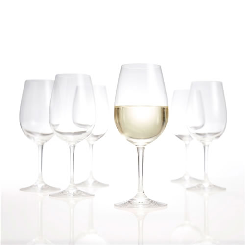 SALUT White Wine Glasses Set