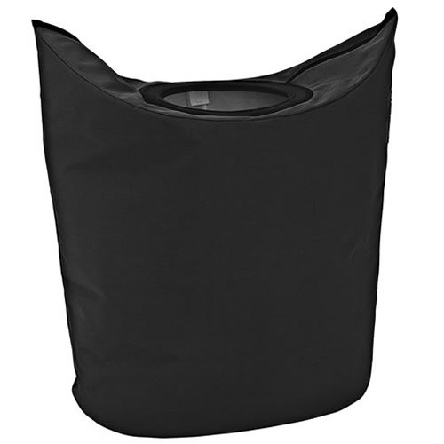 Portable Laundry Bag in Black