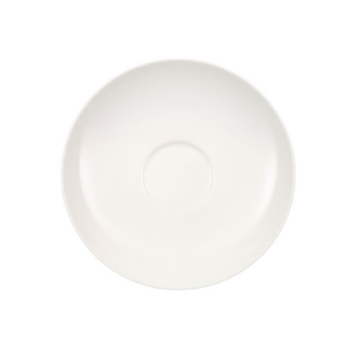 Anmut White Tall Saucer