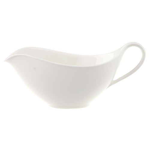 Anmut White Sauce Boat