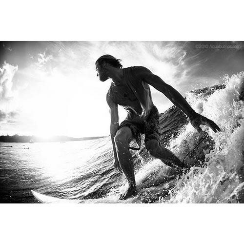 $100 Voucher towards an Aquabumps Black & White Print