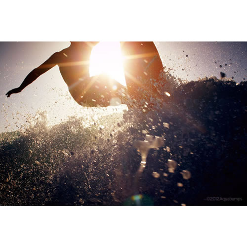 $100 Voucher towards an Aquabumps Surfing Print