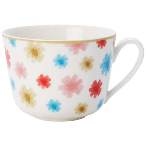 Lina Floral Coffee or Tea Cup