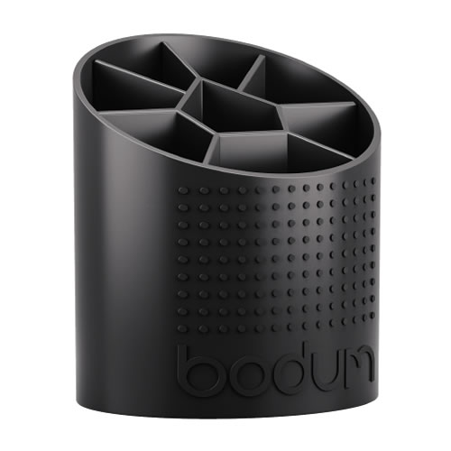 Bistro Utensil Holder in Black