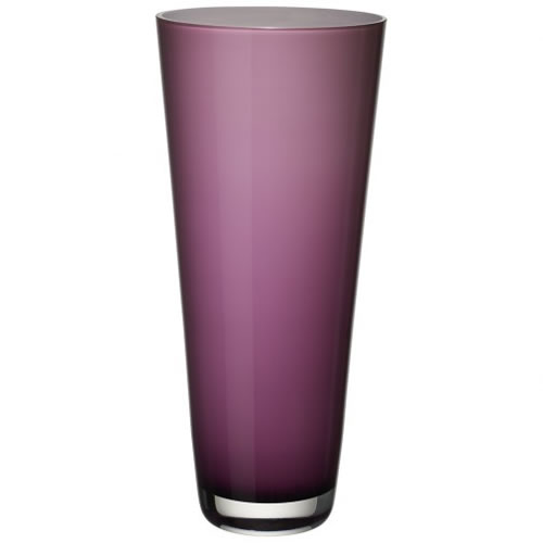 Verso Vase Soft Raspberry 380mm