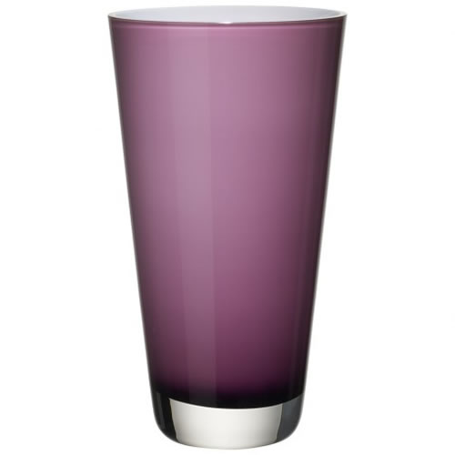 Verso Vase Soft Raspberry 250mm