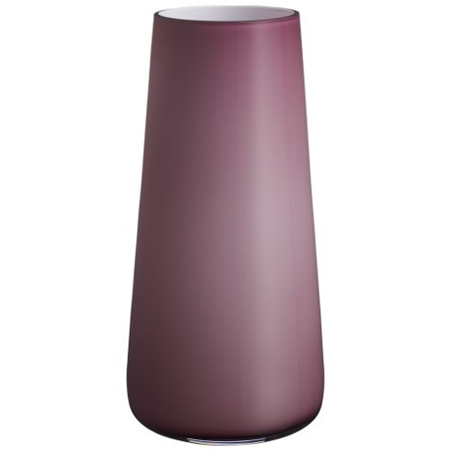 Numa Vase Soft Raspberry 340mm