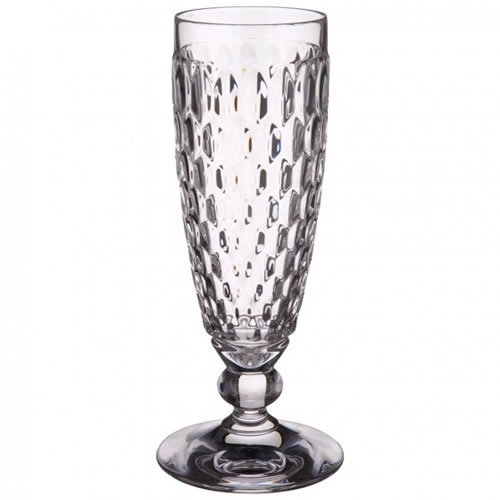 Boston Clear Champagne Flute Set