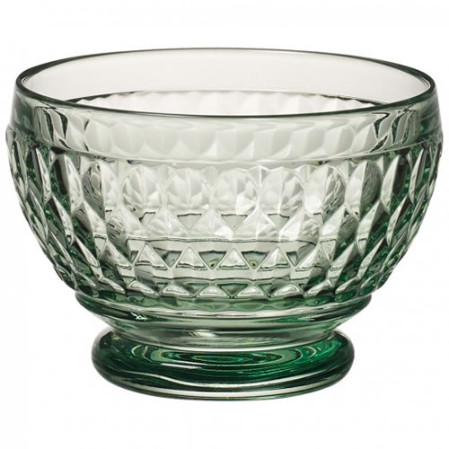 Boston Coloured Individual Bowl Green Set