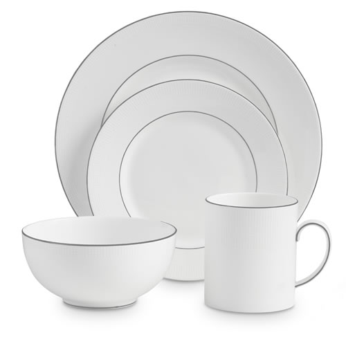 Blanc Sur Blanc 4 Piece Place Setting