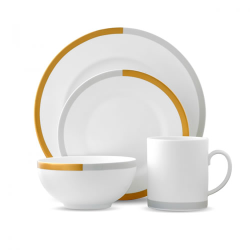 Vera Wang Vera Castillon 4 Piece Place Setting