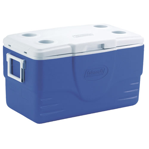 Chest Cooler 47L in Blue