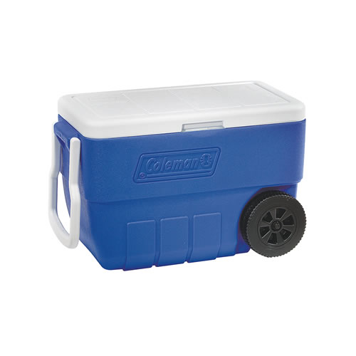Wheeled Cooler 38L in Blue