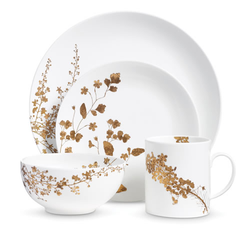 Vera Wang Jardin 4 Piece Place Setting