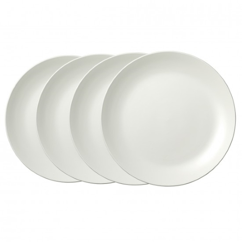 Vera Perfect White Plate 27CM Set of 4