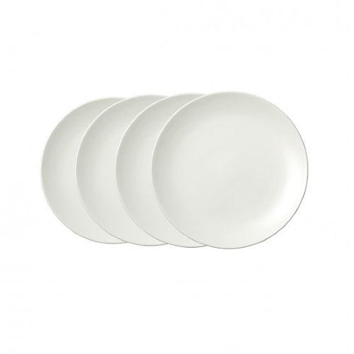 Vera Perfect White Plate 20CM Set of4