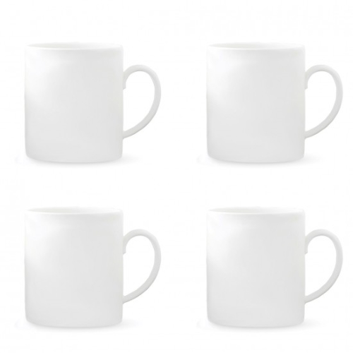 Vera Perfect White Mugs 400ML Set of 4