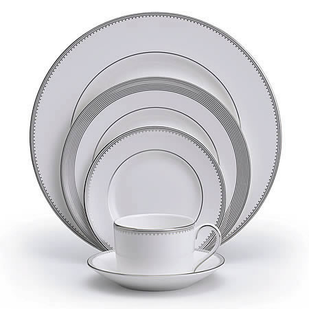 Grosgrain Dinnerware 5 Piece Place Set