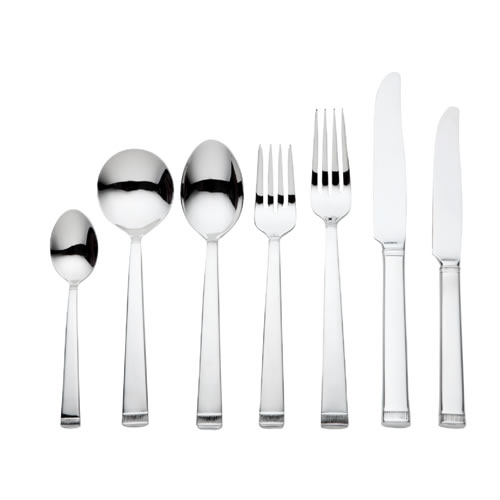 Vera Wang Chime 56 Piece Cutlery Set in Stainless Steel