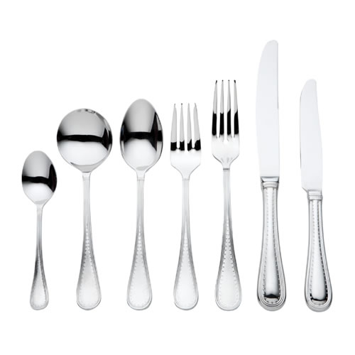 Grosgrain 56 Piece Cutlery Set in Stainless Steel