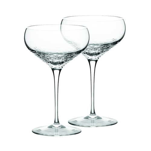 Vera Wang Wedgwood Sequin Crystal Champagne Saucer