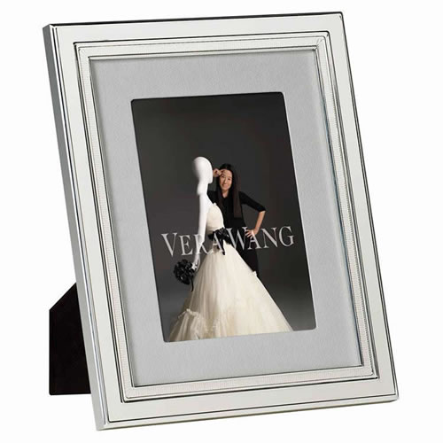 Chime Silver Plated Frame 12.5 x 18cm To Fit 5x7 Photo
