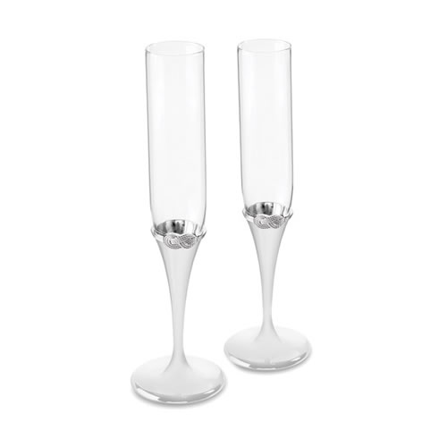 Infinity Toasting Flute Pair