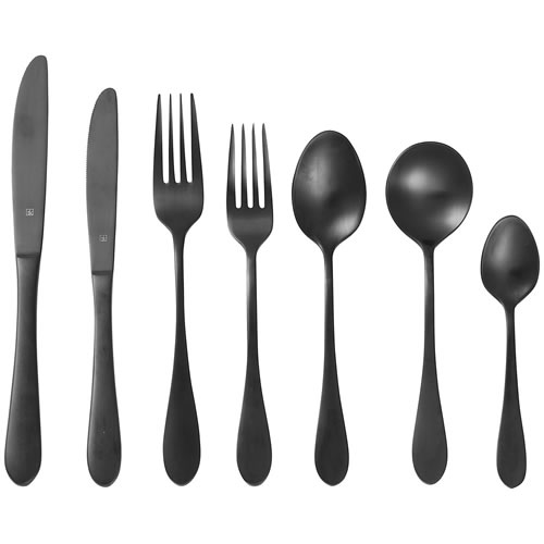 Tablekraft Soho Ink Cutlery Set 24pce