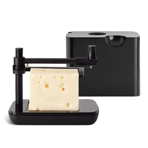 Nuance Cheesebox with Slicer in Black
