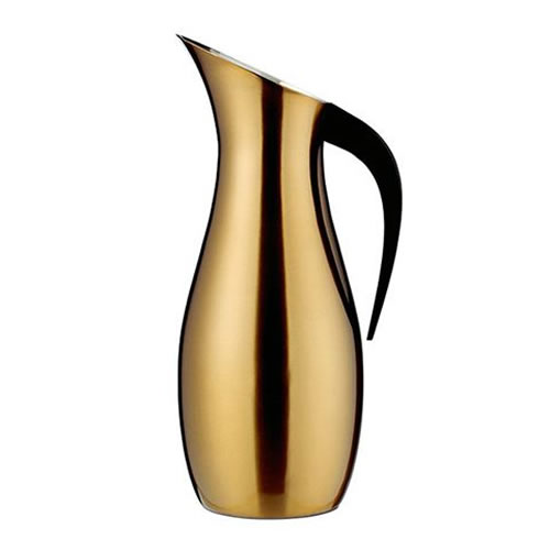 Penguin Brass Water Pitcher