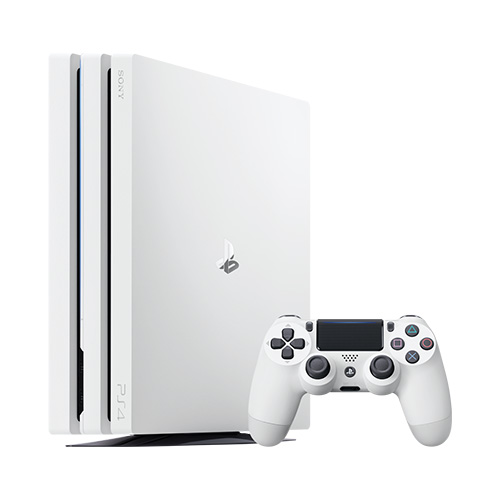 Sony - 1TB PlayStation 4 Pro Game Console - White