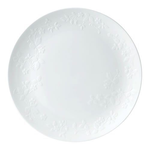 Wild Strawberry White Serving Platter 34cm