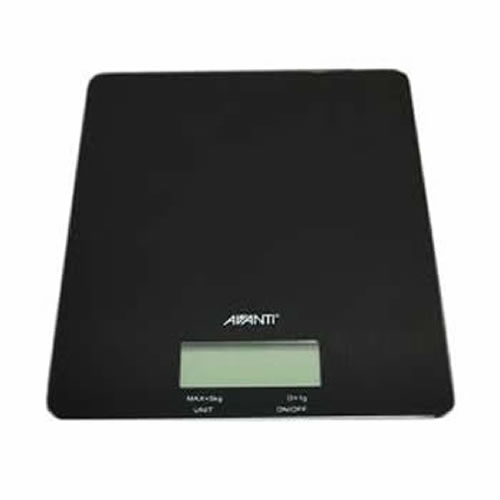 Digital Kitchen Scale in Black