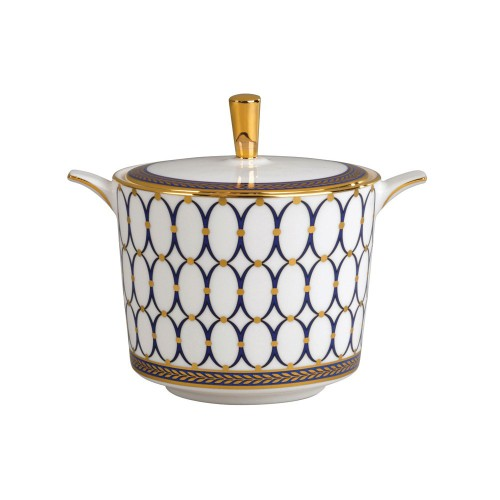 Renaissance Gold Sugar Pot