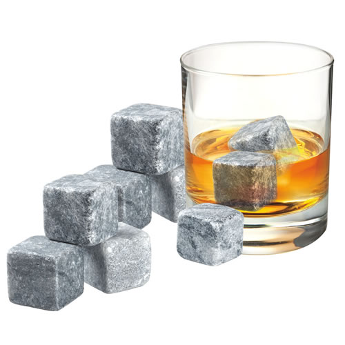 9 Pieces Whisky Rock Set in Velvet Pouch