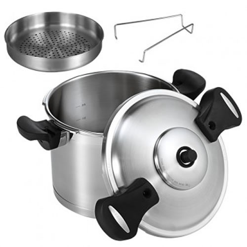 Scanpan Pressure Cooker Pressure Cooker Stainless Steel 6L 22cm