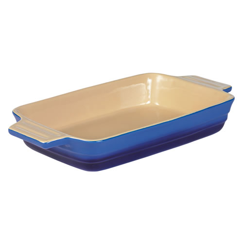 Large Rectangular Baking Dish 32cm in French Blue