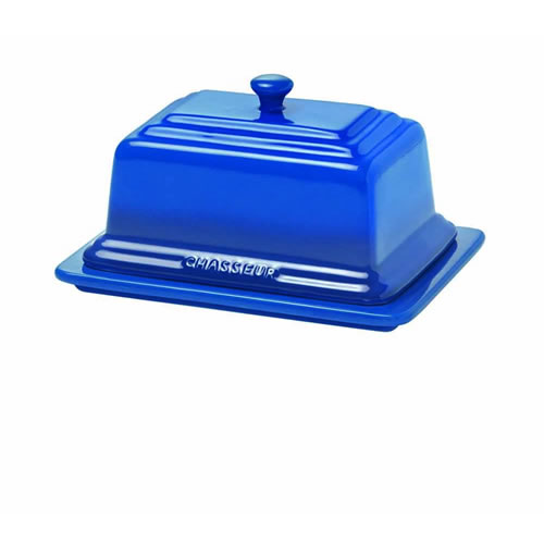 Chasseur Butter Dish in Blue