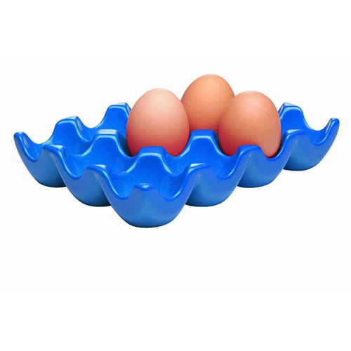 Egg Tray Dozen in Blue