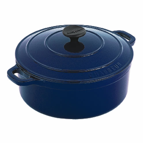 French Blue Round French Oven 28cm 6.3Ltr