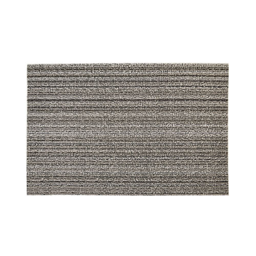 Door Mat in Skinny Stripe Birch 46x71cm