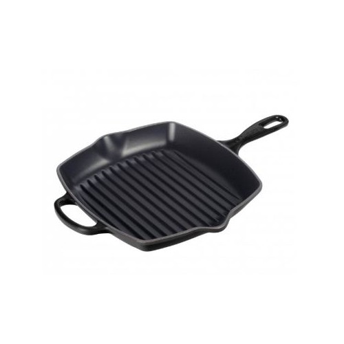 Satin Black Signature Grillit 26cm and receive a FREE CAST IRON PANINI PRESS Valued at $210
