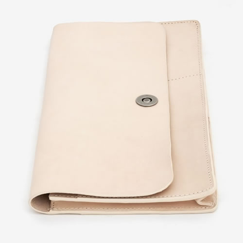Basics Collection Travel Wallet  Natural Tan Leather